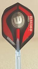 Winmau Rhino Plus Red W Standard Dart Flights