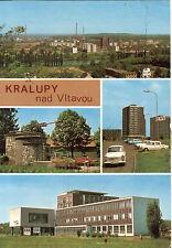 1978 KRALUPY Nad VLTAVOU CZECHOSLOVAKIA Postcard STAMPS