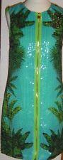 Versace for H&M Paillettenkleid Palmen-/Krokodilprint EUR 34 size US 4 UK 8
