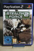 Stealth Force 2 * Sony Playstation 2 * PS2 Spiel * TOP * PAL * Deutsch *