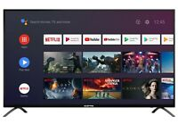 """Sceptre 55"""" Class TV 2160p Android Smart 4K LED TV with Google Assistant"""