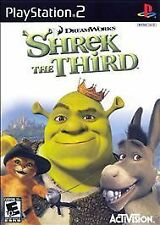 ***SHREK THE THIRD PS2 PLAYSTATION 2 DISC ONLY~~~