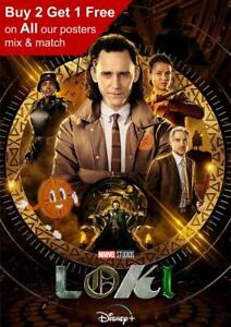 Loki 2021 Series Poster A5 A4 A3 A2 A1