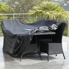 Waterproof Outdoor Lawn Garden Furniture Table Rattan Chair Rain Cover Shelter