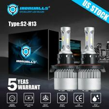 H13 LED For ATV Polaris Ranger 570 800 900 RZR 570 800 900 Headlight Bulbs Kit