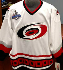 Carolina Hurricanes Classic Licensed Reebok Premier Jersey w/ Stanley Cup patch