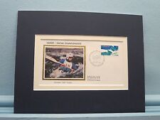Canada - the Canoe & Kayak Championships &  First day Cover of its own stamp