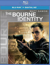 The Bourne Identity (Blu-ray Disc, 2016) Pre-owned w/ Case