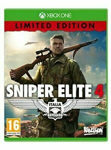 Sniper Elite 4 - Limited Edition  (Xbox One) - Game  ERVG The Cheap Fast Free