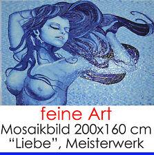 "Opera d'arte natura sottili mosaico mosaico immagine ""Amore"" 200x160 cm 3,2m² 34.000 STRASS"