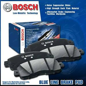 4 Pcs Bosch Rear Disc Brake Pads for Audi A6 C7 4G2 4GC Allroad Quattro