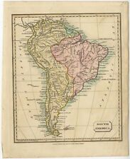South America - Tyrer (1821)
