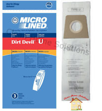 Dirt Devil Type U Micro Filtration Vacuum Cleaner 3pk Buy 2 Packages Get 1 FREE