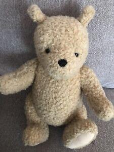 "Vintage GUND Disney Classic Winnie The Pooh Bear Toy Animal Plush Posable 16"""