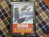 688 Attack Sub - Authentic - Sega Genesis - Case / Box Only!