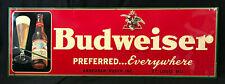 Vintage 1940's Budweiser Sign