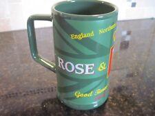 Disney, Epcot, World Showcase- Rose & Crown Ceramic Stein, England,Scotland-NEW