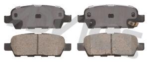 Disc Brake Pad Set-Base Rear ADVICS AD1288