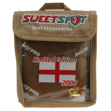 Football Boot Cover Sweetspot Latex Limited Edition Gold England UK Size 1-4