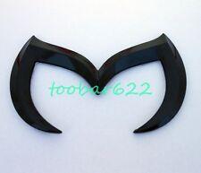 3D Black Bat Batman Car Emblem Badge Rear Trunk Sticker For mazda 3 5 6 tR71