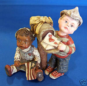 """Sarah's Attic """"FOREVER IN OUR HEARTS"""" Ltd Ed Figurine"""