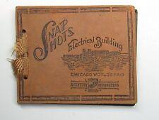 Vintage `33 Snapshots Photo Century of Progress Chicago Worlds Fair #WF29 jbv
