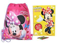 Minnie Mouse Sling Bag with Coloring Book and Crayons