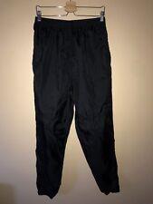 Men's Vintage Nike Black Zip-Ankle Windbreaker Pants - Size Xl