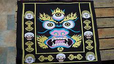 Mahakala Brocade [Tibetan Buddhism, thangka, thanka]