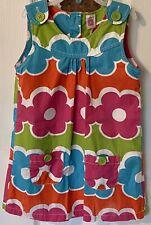 Toddler Girls, Carter's Dress Pastel Color Flowers Pockets Size 4T