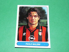 N°37 PAOLO MALDINI MILAN AC CALCIO PANINI EUROPEAN FOOTBALL STARS 1996-1997
