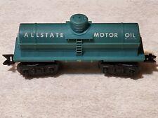 Vintage Marx All State Motor Oil Single Dome Tank Car - O Gauge