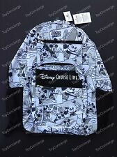 DISNEY Parks COMIC STRIP BACKPACK - DISNEY CRUISE LINE Mickey Mouse NWT