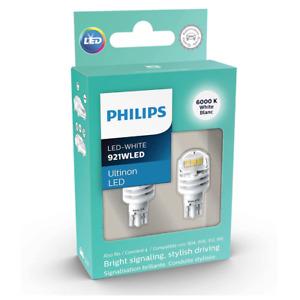 921 904 906 912 916 PHILIPS ULTINON WHITE Reverse LED Bulbs 921ULWX2 2 Bulbs