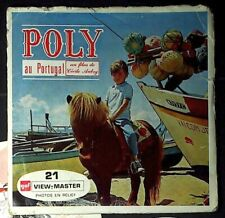 VIEW MASTER 21 PHOTOS EN RELIEF Poly au Portugal - 1965