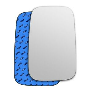 Right wing adhesive mirror glass for LDV Pilot 1997-2006 252RS