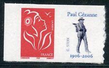 TIMBRE PERSONNALISE N° 3744A **  AUTOADHESIF / MARIANNE LOGO / PAUL CEZANNE