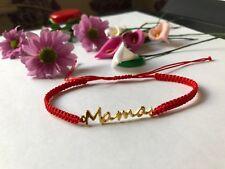 Pulsera De Oro Regalo Para Mama Mamá Madre Hecho A Mano