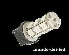 10x LAMPADA LUCI POSIZIONE W5W T20 18 HYPER LED ARANCIONE