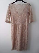 Ladies BNWT Next Petite Lace Pencil Dress Size 10