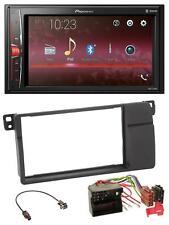 Pioneer 2DIN MP3 AUX USB Bluetooth Autoradio für BMW 3er E46 Quadlock großem Nav
