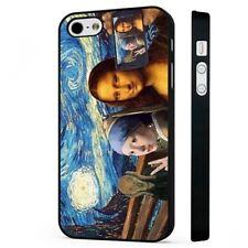 Art Funny Van Gogh Munch Mona Lisa BLACK PHONE CASE COVER fits iPHONE