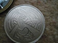 POKEMON LUGIA 2001 METAL COLLECTIBLE BATTLE COIN Silver Nintendo = Rare / Collec
