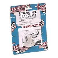 Lokar TCB-40LS13 Throttle Cable Bracket 00-02 GM/04 GTO Throttle 3.5 in Linkage