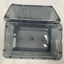 Reptile Feeding Container Spiders Breeding Tank Pet Carrier for Snakes