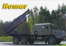 JELCZ 663.32 HOMAR 2014 6x6 POLISH ARMY MILITARY MINI POSTER