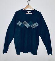 Geoffrey Beene Men's Classic Sweater Size Large