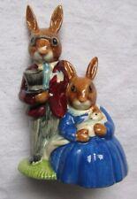 Royal Doulton Porcelain ( Family Photagraph) Bunnykins Figurine 1972