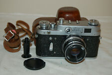 FED 3 (type 1) Vintage 1963 Soviet Rangefinder Camera And Case. 3262642. UK Sale