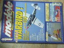 $$z Revue modele magazine N°615 Plan encarte PLayboy'40  Warbird  DG 1000  Pro46